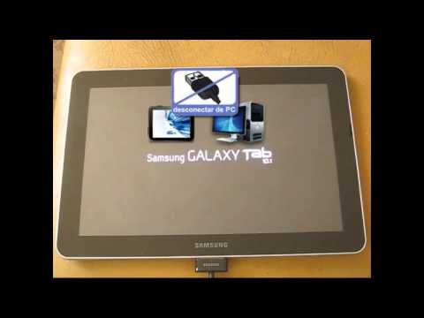 Regresar al estado de fábrica una Samsung Galaxy Tablet 10.1 GT-P7510 wi-fi
