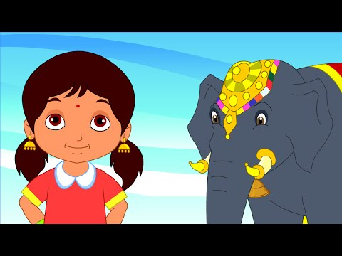 Yannai Yannai - Chellame Chellam - Cartoon animated Tamil Rhymes For Kids video