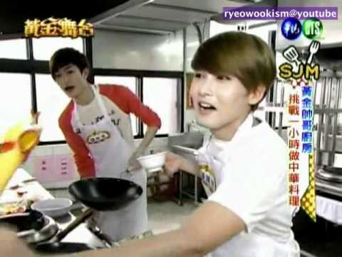 [eng sub] 110521 Golden Stage - Chef Ryeowook cuts