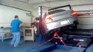 FAIL - EVO plummets and falls off dyno