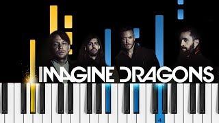 Download Lagu Imagine Dragons - Whatever It Takes - Piano Tutorial & SHEETS! Gratis STAFABAND