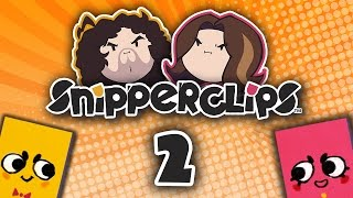 Snipperclips: Cutting Butts - PART 2 - Game Grumps