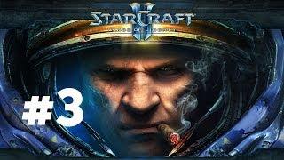 StarCraft 2 - Эвакуация - Часть 3 - Эксперт - Прохождение Кампании Wings of Liberty