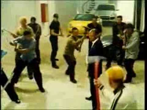 The Transporter fight scene edited 2