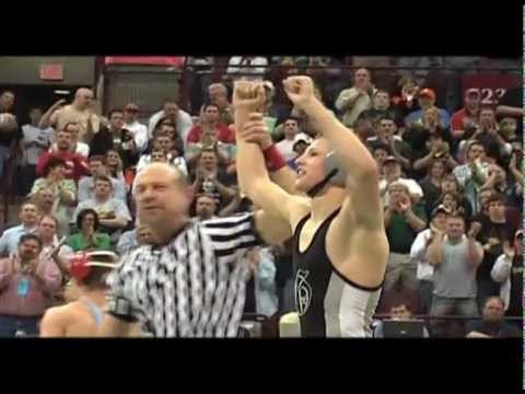 David Taylor&#039;s 4th Ohio State Wrestling Championship- Highlights (2009)