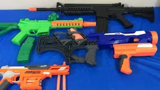 Box of Toys Toy Guns NERF Guns Rocket Launcher Assault