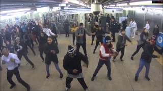 Flash mob electro subway english 2014 de malade ! dans le métro