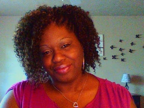 Crochet Braids: Covering Shaved Side - YouTube