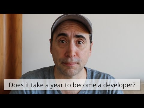 Can you become a pro web developer in a year?