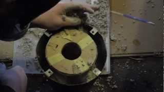 Propane Armour/ Sheet Metal Forge Construction - Part 3 - The Refractory