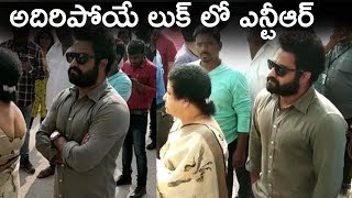 Jr NTR Rocking Look For RRR | Young Tiger Jr NTR Casts His Vote @ #TelanganaElections2018