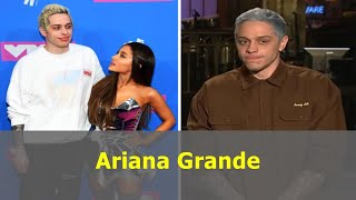 Ariana Grande slams ex fiance Pete Davidson as he jokes about their split on TV