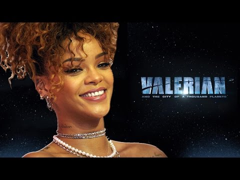 Rihanna To Star In Luc Besson's 'Valerian'