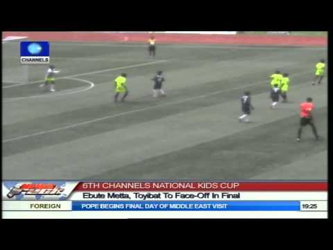 Ebute Metta, Toyibat In The 6th Final Of Channels Nat'l Kids Cup video