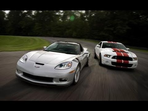 Corvette Stingray  on 2010 Chevrolet Corvette Grand Sport Vs  2010 Ford Mustang Shelby Gt500