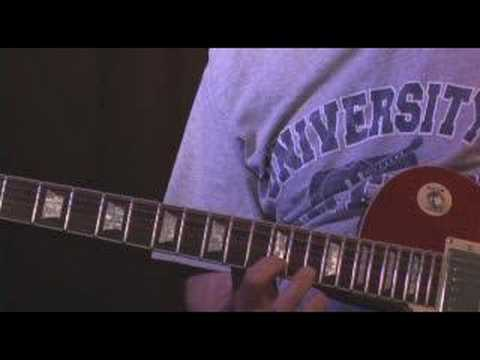 Guitar Lesson Dann Huff\Lukather Style Lick