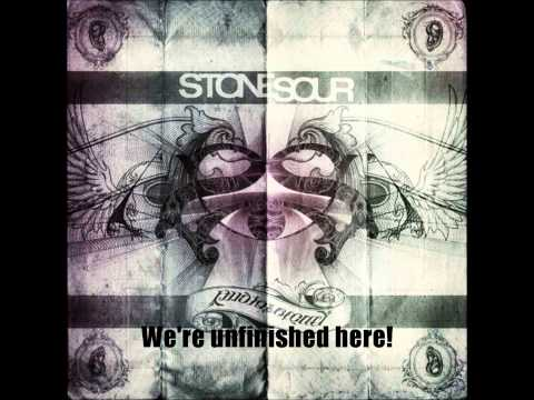 Stone Sour - Unfinished