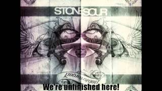 Watch Stone Sour Unfinished video