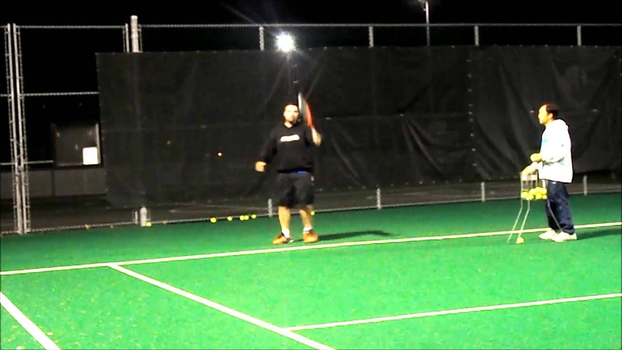 Forehand And Backhand Groundstroke Backhand Groundstroke