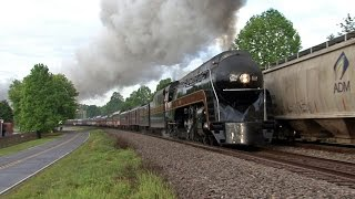 N&W 611 - The Roanoker - 2017 Greensboro Trips