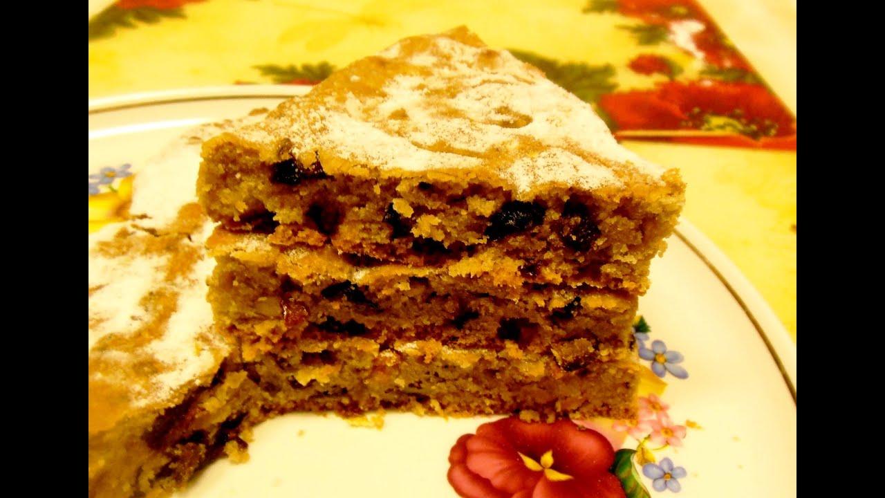 Рецепт постного торта в пост