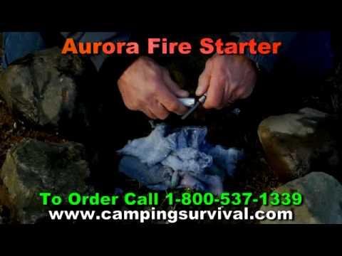 Aurora Fire Starter & CampingSurvival.com