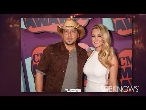 Brittany Kerr and Jason Aldean Red Carpet Debut at CMT Music Awards - The Buzz
