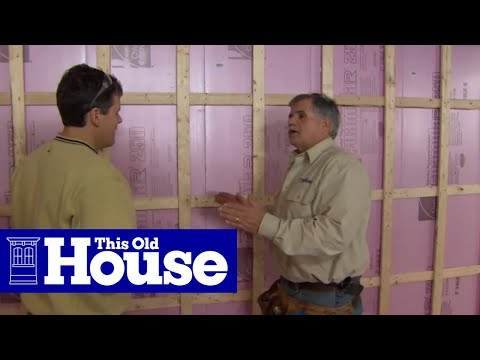 How to Insulate a Basement - This Old House