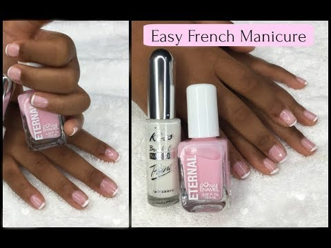 BEST DIY French Manicure Ever
