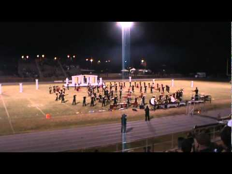 "East Davidson High School Marching Band Show ""Heart Breaker"""