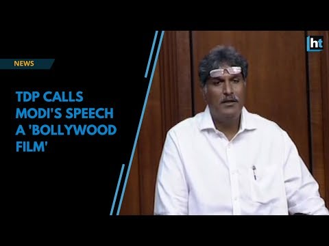 TDP has accused Modi of betraying Andhra Pradesh and calls his speech a 'Bollywood film'