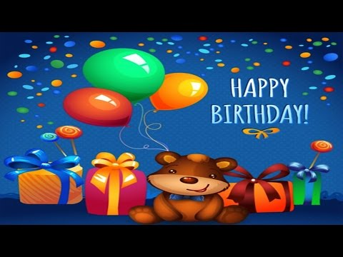 Fun Happy Birthday Song For Kids video