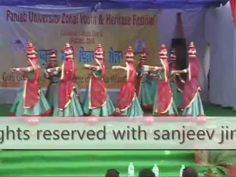 Rajasthani Folk dance Chirmi performance choreographed by sanjeev...