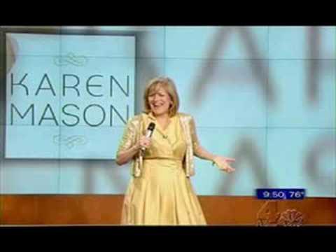 Karen Mason performing All That Jazz