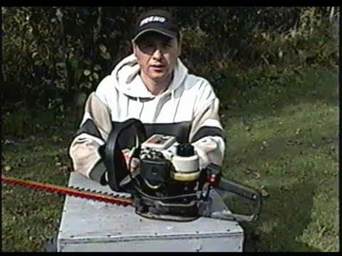 HOW TO ADJUST CARBURETOR on Craftsman Hedge Trimmer
