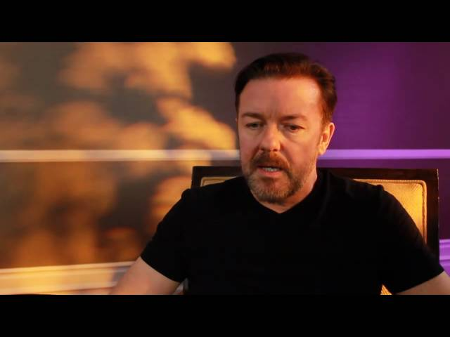 "Ricky Gervais ""Tweets"" Back to the Golden Globes Twitter Followers - Part 1"