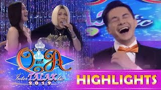 It's Showtime Miss Q and A: Kuya Escort Greg is afraid of heights