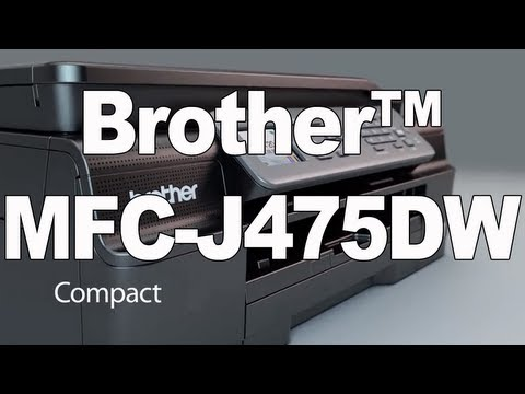 Color Inkjet All-in-One Printer   Brother MFC-J475DW Review