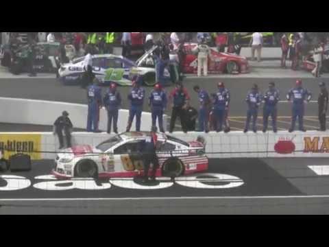 Dale Earnhardt Jr. Pocono 400 Victory Burnout