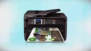 01.Epson WorkForce WF-7610/WF-7620: Wireless Setup Using the Printer's Buttons