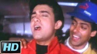 Do Mastane Chale Zindagi Banane - Aamir, Salman, Andaz Apna Apna Song