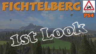 Fichtelberg, 1st Look Map Tour. Farming Simulator 17 PS4.