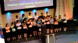 """O Rejoice in the Lord"" -MIBC choir at Greenhills Christian Fellowship, Ortigas - Oct 11, 2010"