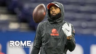 Odell Beckham Jr. Takes Jabs At NY Giants For Making Trade 'Personal' | The Jim Rome Show