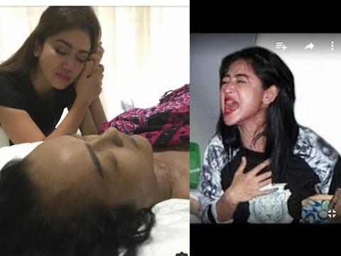 Dewi Persik Histeris! LIVE Phone! Pesan Terakhir Jupe  Sebelum Julia Perez Meninggal Dunia