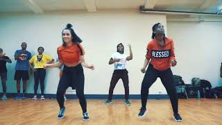 Flavour -Time to party ft. Diamond Platnumz Official Dance Video