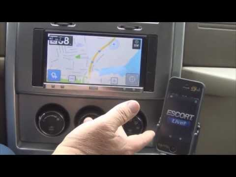 Escort Smart Radar with AppRadio 2 and iPhone