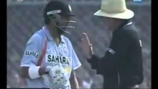 Fight btw Gambhir   Shahid Afridi PAKISTAN VS INDIA 3RD ODI.flv