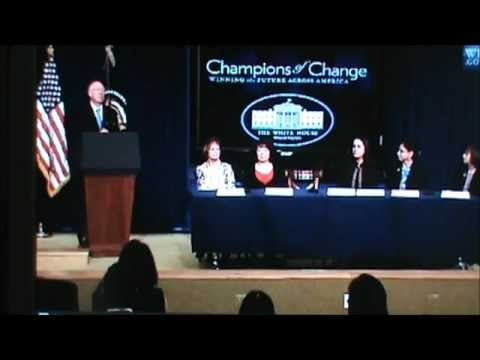 White House champions of change CESAR CHAVEZ