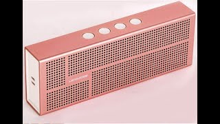Loa Bluetooth Cao cấp nhôm nguyên khối - Hàng nhập khẩu Mỹ.